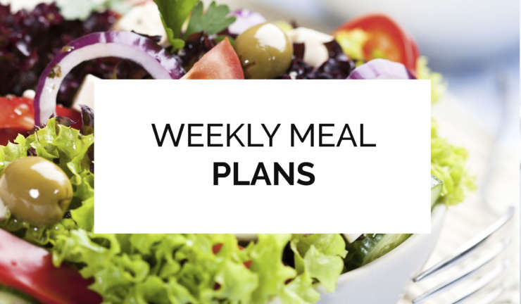 Weekly Variegated Meal Plans
