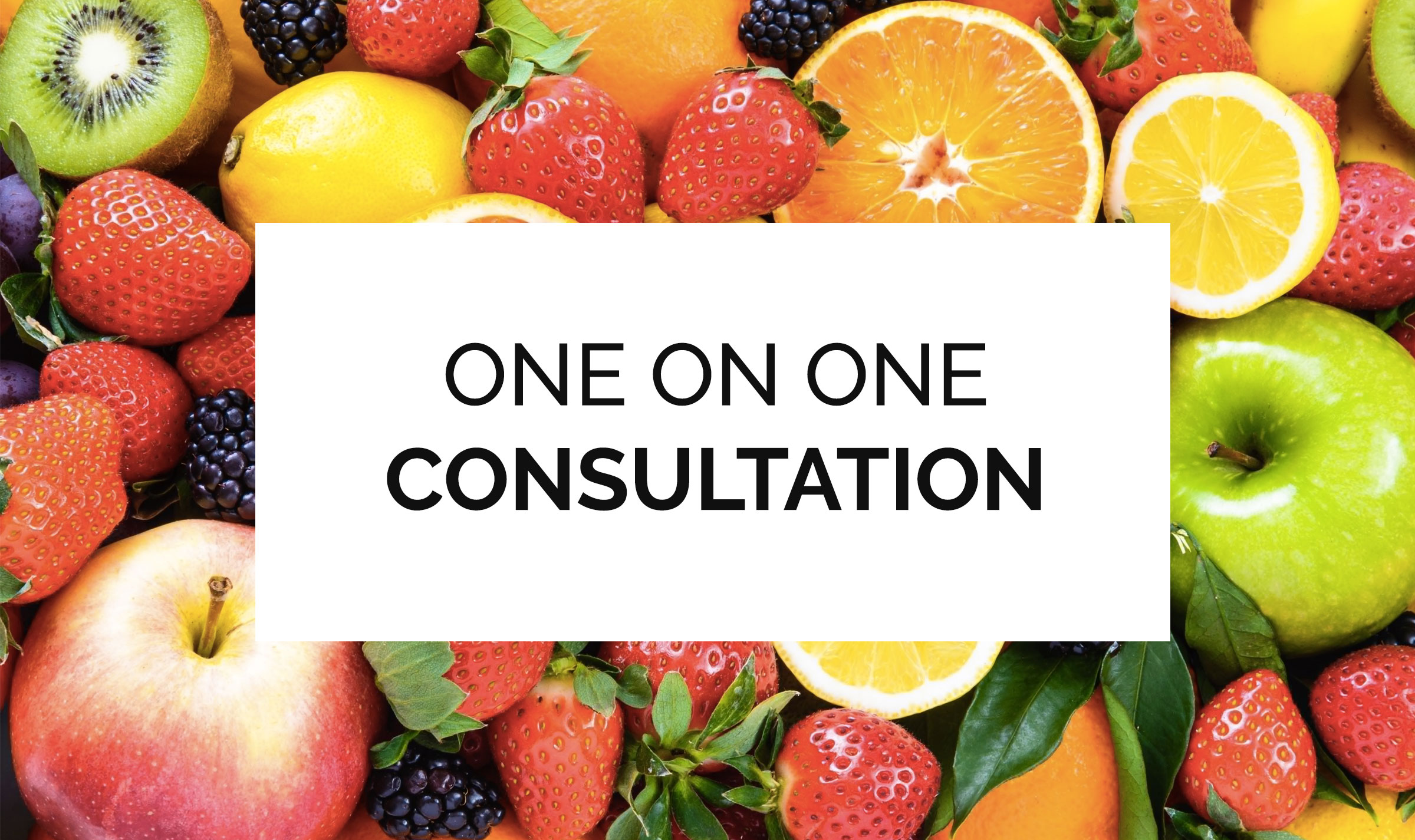 one on one consult image