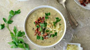 Cauliflower Broccoli Soup