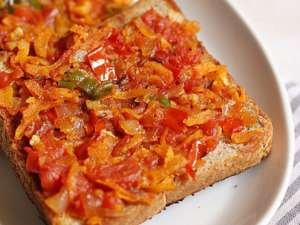 masala toast recipe