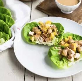 Tofu Lettuce Cups