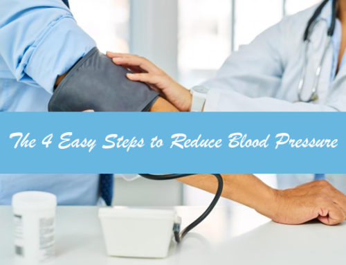 The 4 Easy Steps to Reduce Blood Pressure