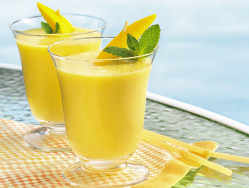 Mango Juice Smoothie