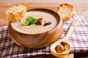 Mushroom Cappicino Soup