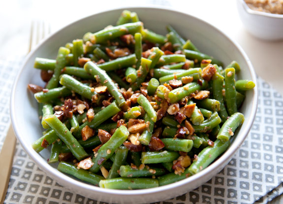 Green Bean and Almond Salad Frommonday